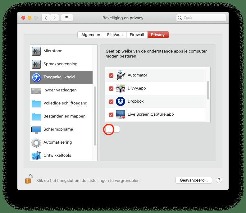 Instructie AnyDesk Mac 2